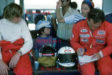 James Hunt & Jochen Mass McLaren Portrait Argentine Grand Prix 1977 Photograph 2