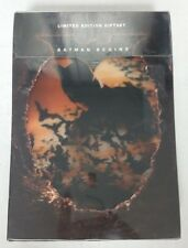 Batman Begins Limited Edition Collectable Gift Set Dvd New Sealed