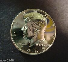 """1965 SMS KENNEDY HALF DOLLAR SILVER PROOF-LIKE GEM FROM SPECIAL MINT SET """"NICE"""""""