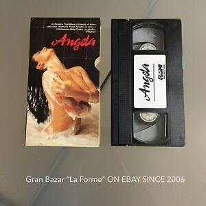1991 VHS Play Boy ANGELA CAVAGNA TESTATA video e audio TOP!! erotico