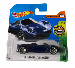 Hot Wheels '17 Pagani Huayra Roadster Short Card - Combined Postage Available