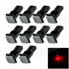 10X Red T5 1 5050 LED Dashboard Licence Plate Speed Wedge Light Bulb Lamp B002