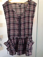 Roxy mini dress size 10 loose new without tags