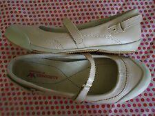NEW-MEPHISTO ALLROUNDER beige MARY JANE'S sz 10 FREE SHIPPING! BRAND NEW!!!