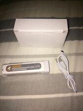 NEW NIB Universal Backup Battery Charger+Micro USB Charging Cable