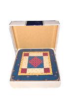Vintage Pimpernel Set Of 6 Cork Back Square Coasters Patchwork Glory