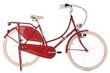 """Damenrad Hollandrad 28"""" Tussaud rot 3-Gang KS Cycling 346H"""