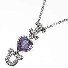 4.46ct Corte Corazón Estilo forma Amatista violeta Circonita Cúbica 18ct