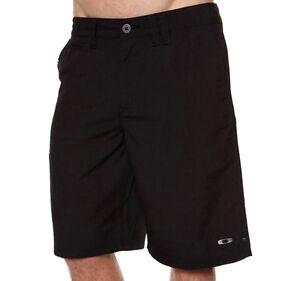 Oakley Coaster Black Size 30 Shorts Mens Casual Golf Chino Cargo Walkshorts New