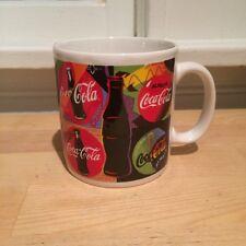 Coca Cola Pop Art Neon Multicolored Coffee Mug