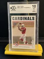 2004 Topps Larry Fitzgerald Rookie #360 Bccg 10. Benefits Charity!❤️💝❤️