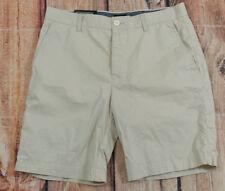 H&M Slim Fit Bermuda Walking Shorts Womens Juniors Size 32R Beige