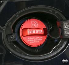 Alloy diesel fuel filler cap cover RED for Range Rover Sport L494 SVR 2014 TDV8