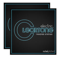 2-Pack Cleartone 9409 Electric Guitar Strings, Nickel Plated, Coated, 9-42