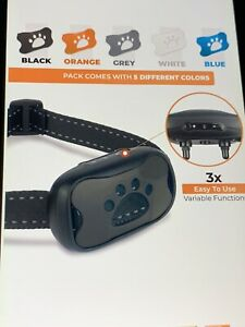 Anti Bark Collar for Dogs Fits S,M,L Non Shock Free Shipping!
