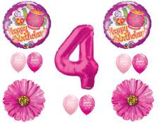 Tea Party Balloons 4th Birthday Decoration Supplies Fourth Teapot
