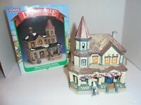 6) Lemax Dickensvale Noma  Christmas House ~ Hills Dept Store Vintage 1995