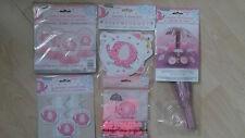 Baby shower Elephant Decoration Kit - Girl