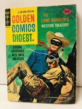 Golden Comics Digest #48 Lone Ranger Western Treasury - Gold Key 1976
