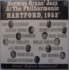 NORMAN GRANZ: JATP Hartford 1953 SEALED Pablo JAZZ vinyl lp RARE