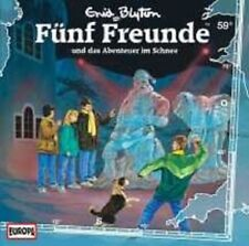 """FÜNF FREUNDE """"059/UND DAS ABENTEUER IM SCHNEE"""" CD NEU"""