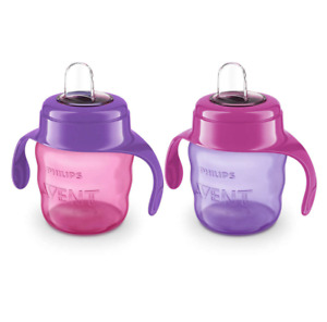 Philips Avent My Easy Sippy Cups 7 oz SCF551/22