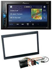 Pioneer 2DIN MP3 USB AUX Autoradio für Peugeot 207 307 Expert Partner schwarz