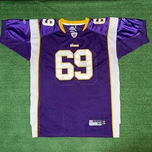Reebok NFL Minnesota Vikings #69 Jared Allen On Field Football Jersey - 52