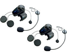 SENA SMH-10 BLUETOOTH® STEREO HEADSET/INTERCOM - DUAL UNIT KIT WITH MICROPHONES