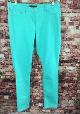 Ashley Stewart Green Skinny Jeans Size 14