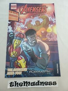Marvel The Avengers in Gearing Up Custom Edition #1 Playmation Promo Comic