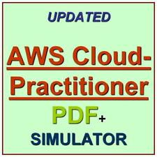 Amazon AWS Certified Cloud Practitioner Exam CLF-C01 Test QA SIM PDF+Simulator