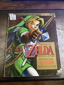 The Legend of Zelda: Ocarina of Time Official Nintendo Power Player's Guide N64