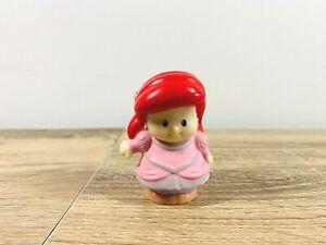 Fisher Price Little People Disney Princess Ariel Little Mermaid Pink Dress Rare