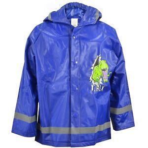 """Regenjacke """"T-Rex"""", blau, Gr. 110/116 NEU/OVP"""