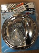 Danco Single Or Two Handle Valve Tub Shower Trim Kit Moen Chrome 10001