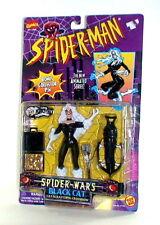 1996 Spiderman Spider Wars Black Cat Figure ToyBiz Complete NIP New