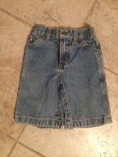 "Arizona Jean Company 5 Regular Shorts Boys Button Snap 17-21"" Stretch Waist"