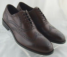 241500 FT75 New Men's Shoes Size 9 M Brown Leather Made in Italy Johnston Murphy