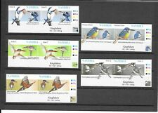 Namibia 2014 Kingfishers Imperf
