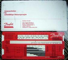 Danfoss Data slider for automatic heater control