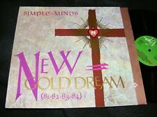 Made IN Germany CLEAN Simple Minds LP NEW GOLD DREAM 1982 Virgin Jim Kerr Nice
