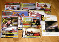 Salmon Trout Steelheader MAGAZINES LOT OF 9: 2004,2005 ISSUES USED