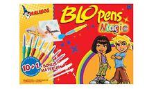 Pustestifte für Kinder Malinos Blowpens 10+1 Stifte mit Schablonen