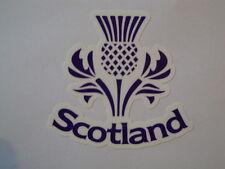"""2 escocés Thistle 3 """"Moto Casco pegatinas OIM Tt Escocia Rugby Yamaha"""
