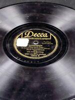 Decca 18633 Ink Spots Ella Fitzgerald CONFESSIN / HER TEARS FLOWED LIKE WINE 78