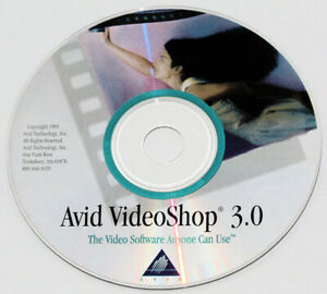 Avid VideoShop 3.0 for Apple Mac on CD-ROM -- video editing software