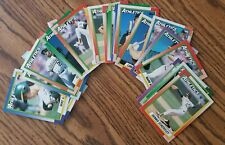 1990 Topps Oakland Athletics Team Set with Traded (32 cards)