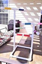"Custom 1/2"" PVC Parrot Perch Fun GymStand **FREE SHIPPING**Birds Love Them**"