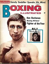 BOXING MAGAZINE-MAY 1971- KEN BUCHANAN COVER VF CONDITION